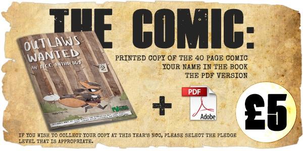 Printed Comic - £5