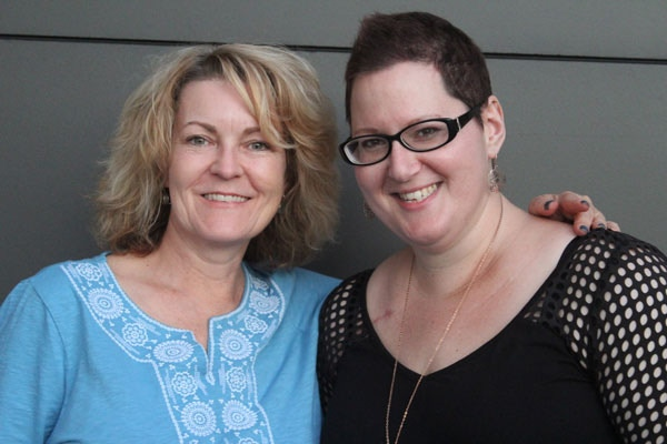 Cat Sparks and Liz Grzyb (L-R) [photo by Cat Sparks]