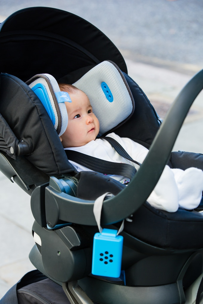 Brizi Baby is designed to be comfortable and to fit in any pram or stroller.