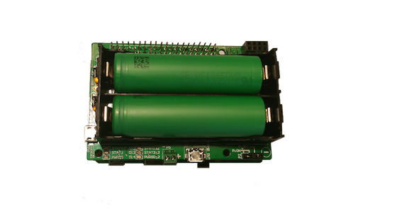 Pi18650 DUAL BATTERY HAT - mobile Raspberry Pi power source