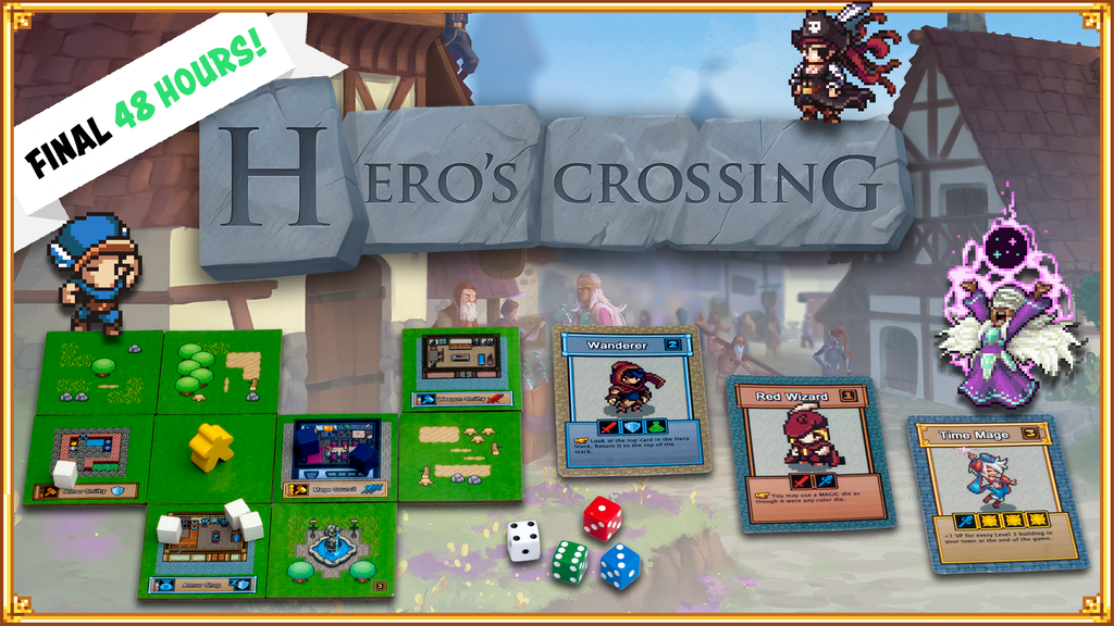 Hero's Crossing project video thumbnail