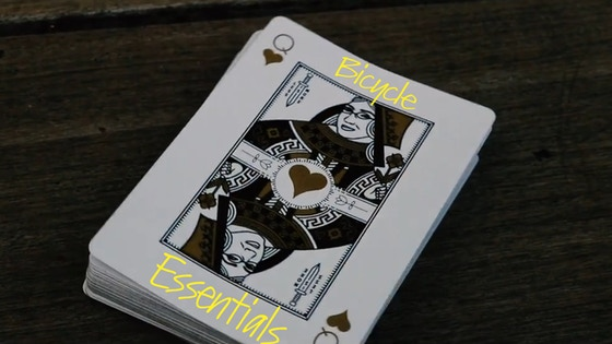 Bicycle Essentials Playing Cards By Nathan Goldberg