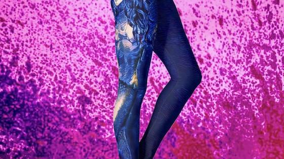 Unique Mermaid Art Yoga / Festival Leggings & Apparel