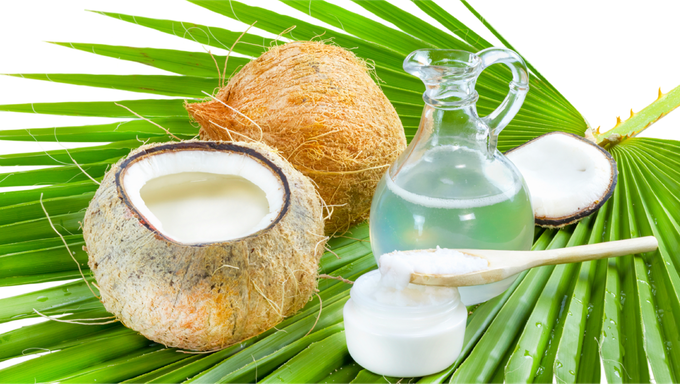 Coconut oil, a great source of healthy fats!
