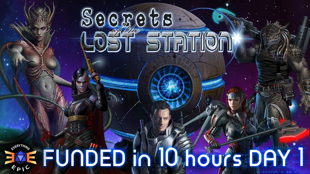 Secrets of the Lost Station project video thumbnail
