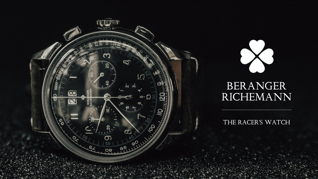 Beranger Richemann - The Racer's Watch project video thumbnail