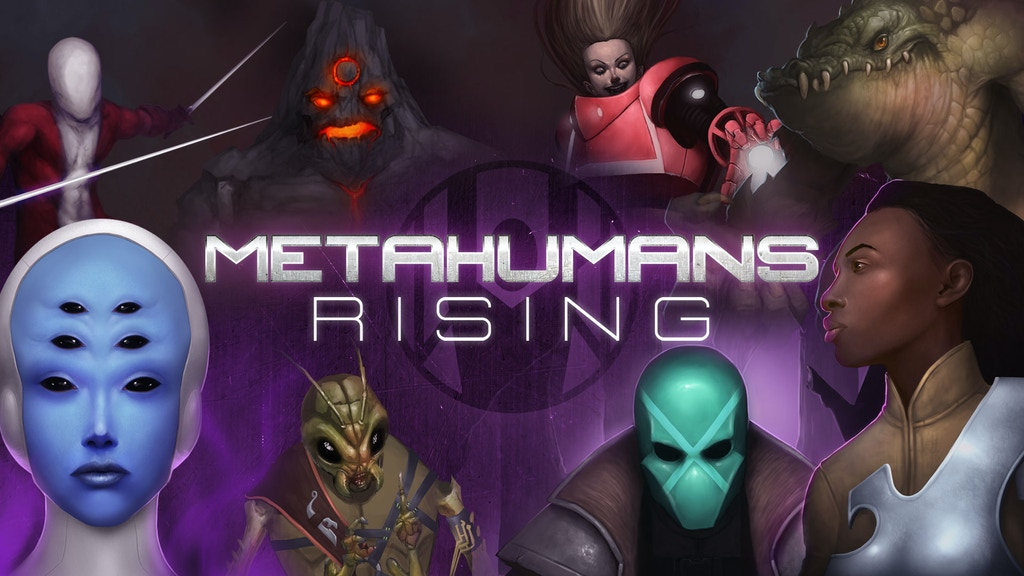 Metahumans Rising RPG Redux project video thumbnail