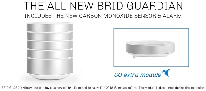 NEW PLEDGE: BRID Guardian - Includes Carbon Monoxide Module!