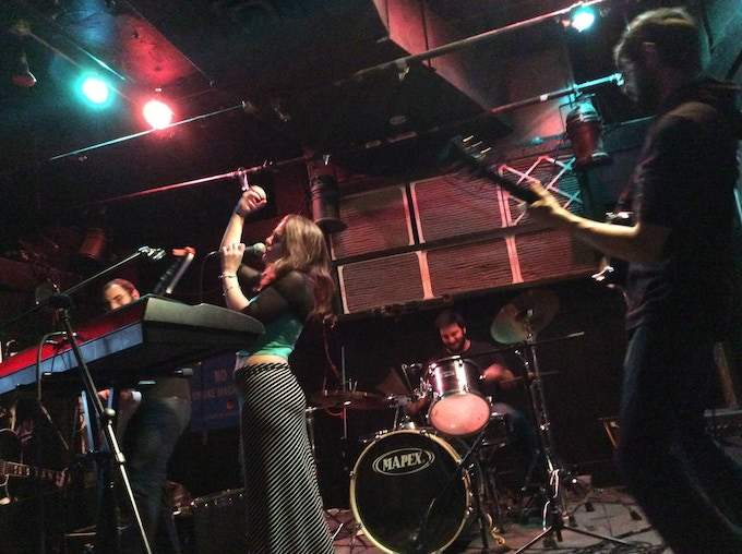 A show in Fall 2014 with new drummer Vishal Vaswani.