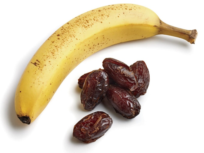 Bananas & Dates, natural sweeteners and good for health!