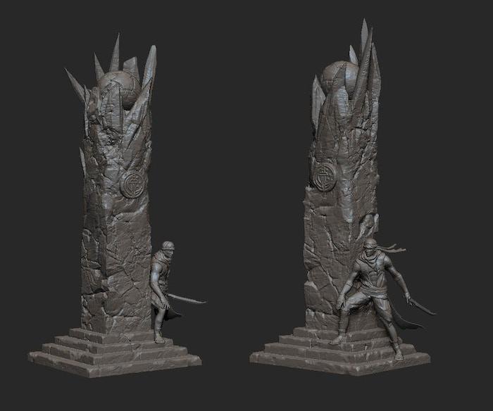Twilight Brotherhood Monument (Revised)