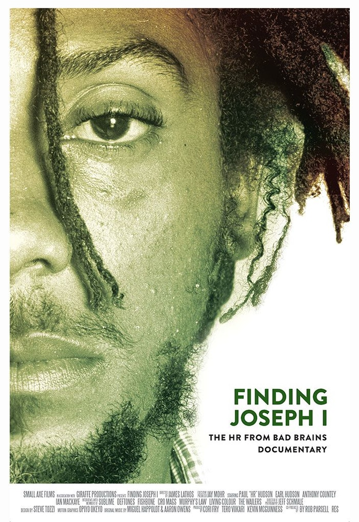 "HR ""Finding Joseph I"", is the upcoming documentary chronicling the eccentric life of legendary punk rock reggae singer, Paul""HR""Hudson."