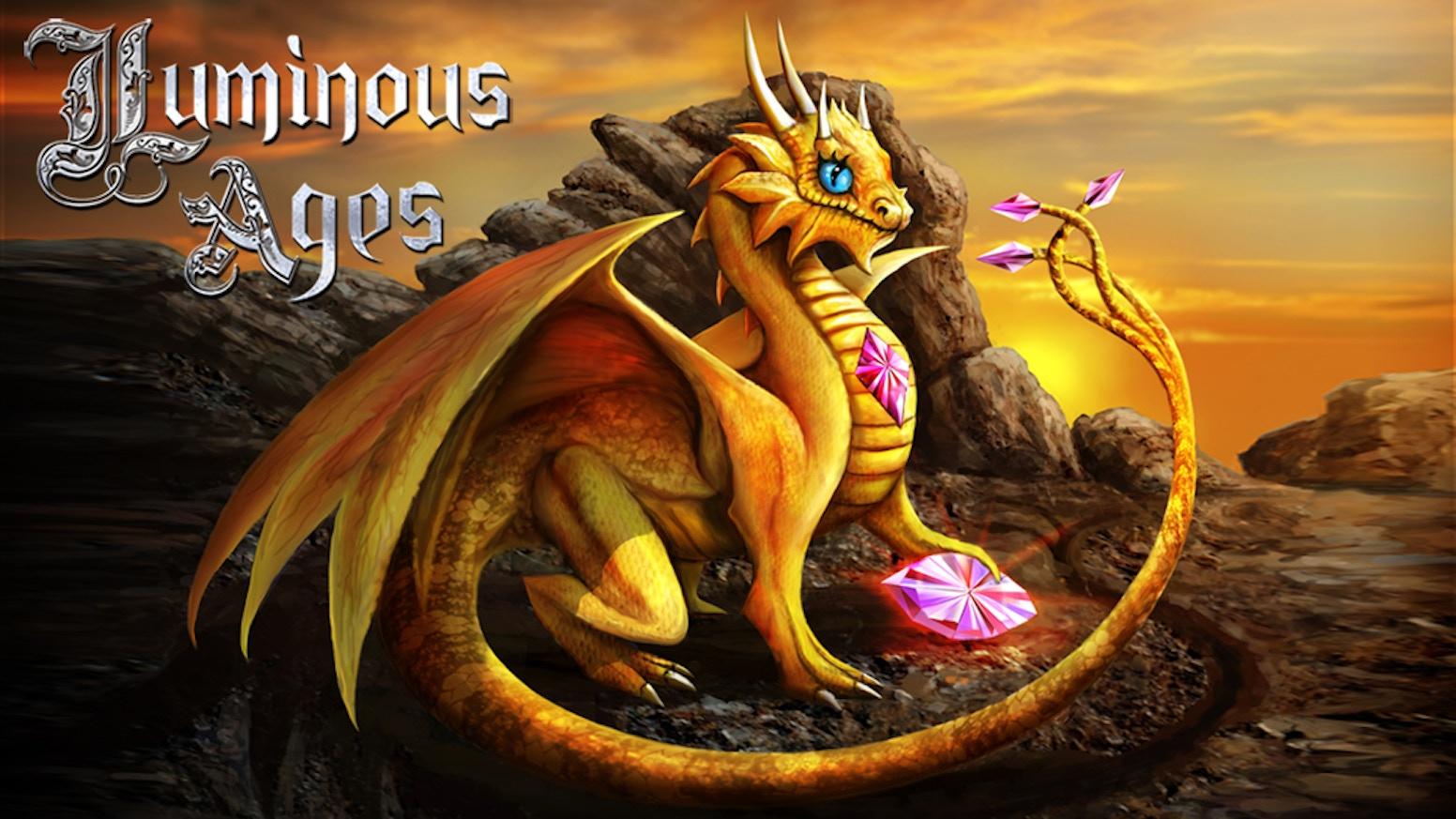 Luminous Ages is a fantasy comic with Dragons of all kinds and Wizards from many cultural backgrounds. Be in the comic & comic artbook.