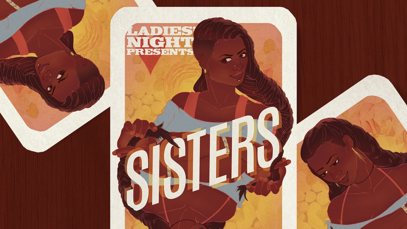 An all-ages comic anthology featuring 24 women & nonbinary creators, Sisters is about the bonds we are born into and the ones we choose