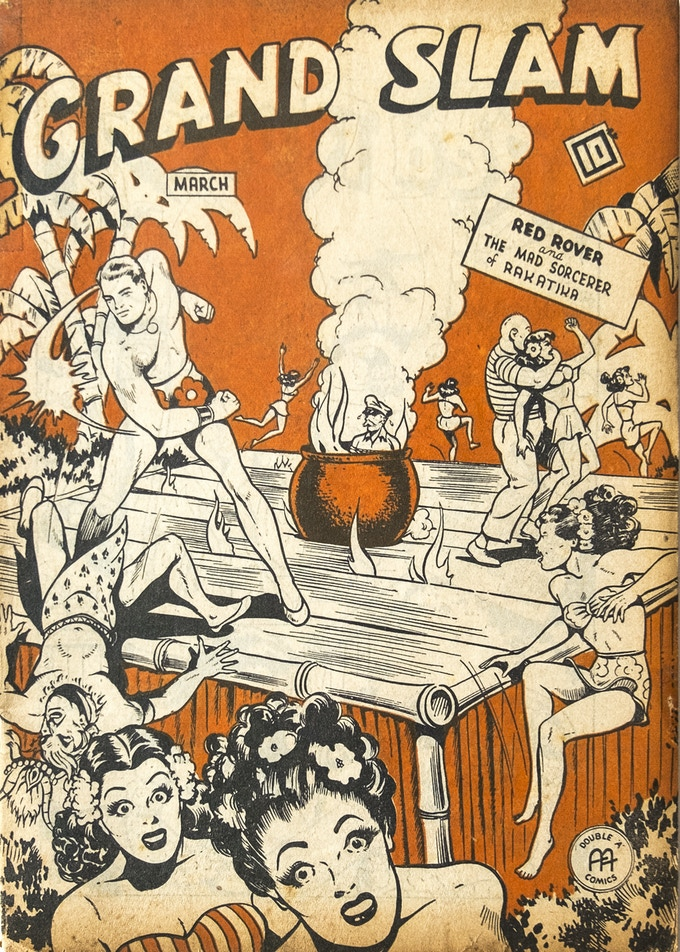 Original Copy of Grand Slam Comics V. 4 No. 4
