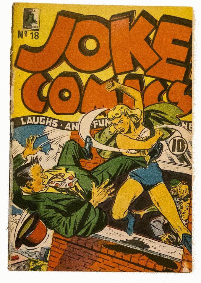 Original Copy of Joke Comics 18