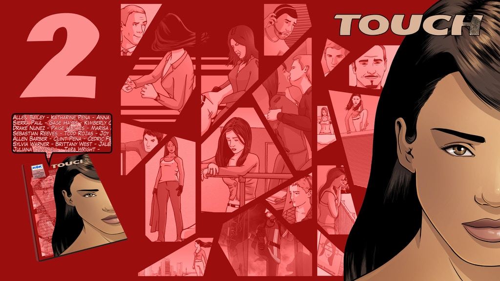 Touch #2 - Crime thriller comic book (English & Deutsch) project video thumbnail