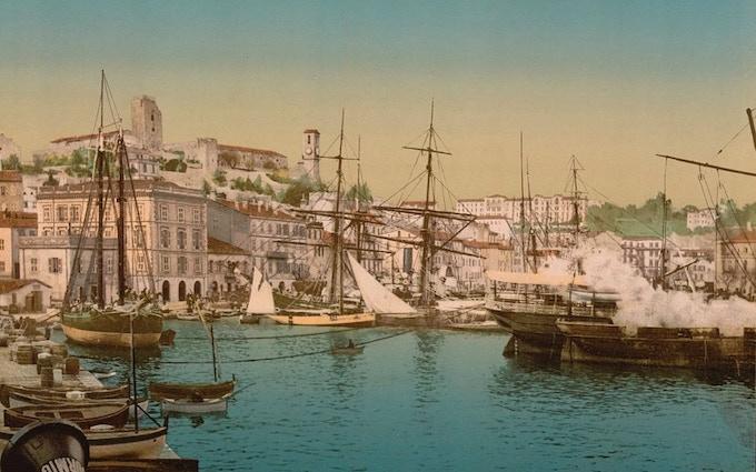 Cannes, circa 1890