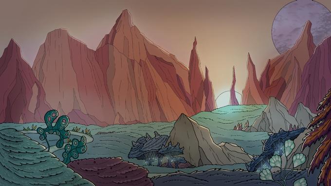Dawn on a new world!