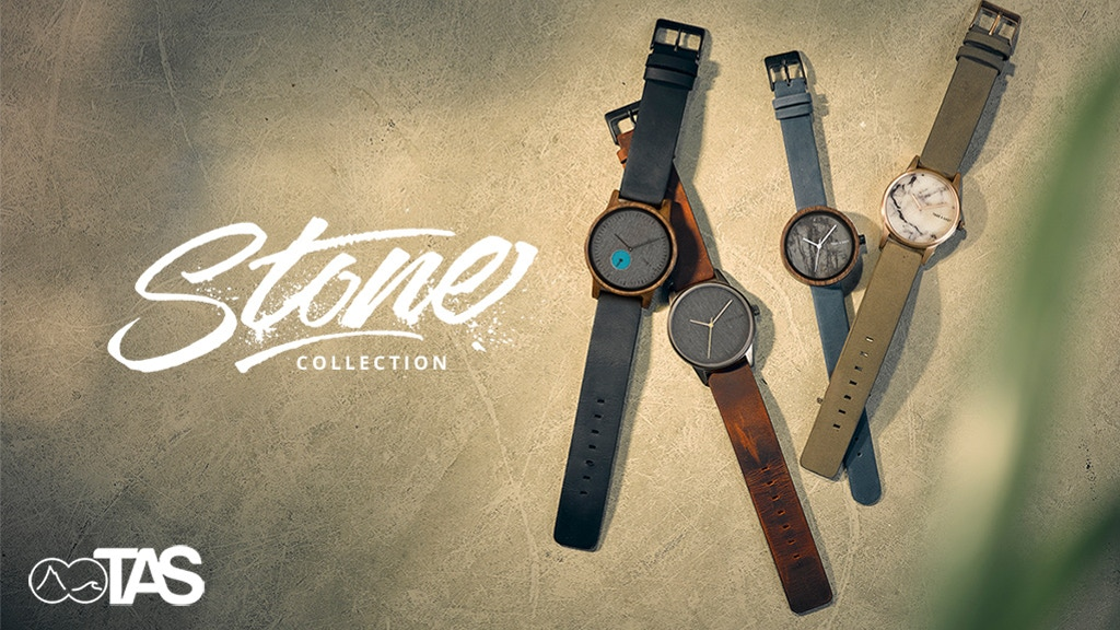 STONE COLLECTION - Mixed Material Watches By TAKE A SHOT project video thumbnail