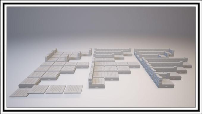 UNLOCKED - Mayan 1 Square Tile Set