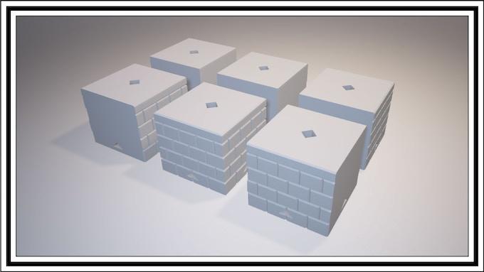 $1800 - No Cap Cube Set
