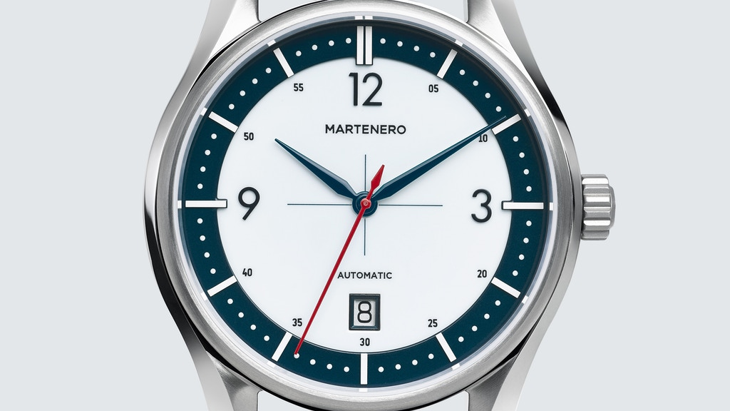 The Martenero Kerrison: A Mechanical Watch, Modern & Classic project video thumbnail