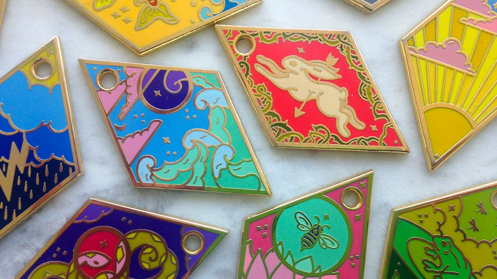 The Tessera Oracle: Enamel Fortune Telling Charms project video thumbnail