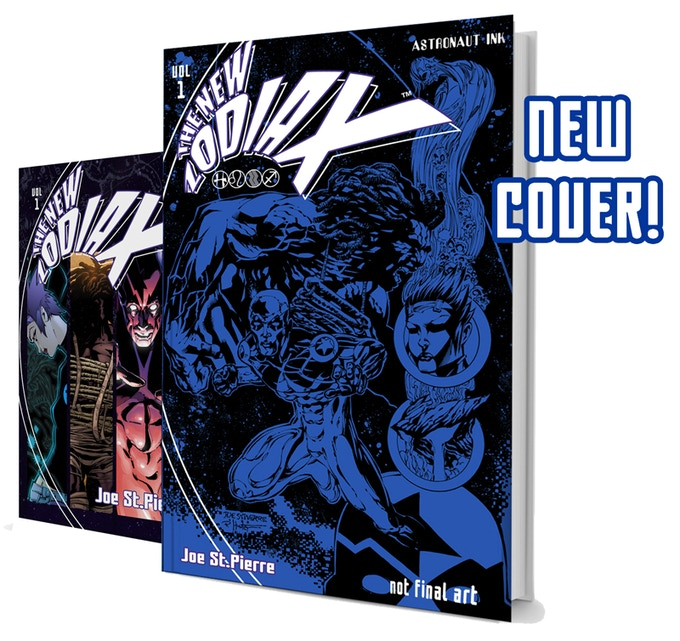 The NEW ZODIAX NEW EDITION will sport an all-new cover by Joe St.Pierre, Rob Hunter and a special guest colorist!
