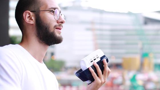 HICOOLER: Pocket-sized Air Conditioner