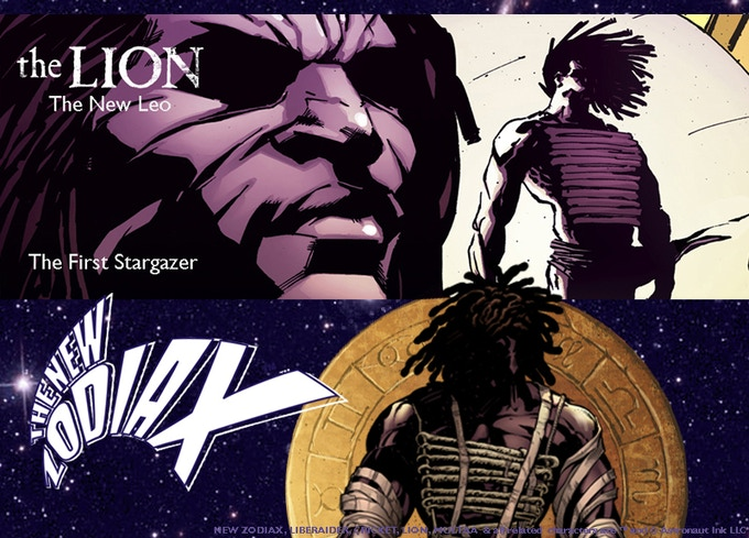 LION. Near-immortal who's lived for tens of thousands of years. Or has he? First appearance: NEW ZODIAX #2