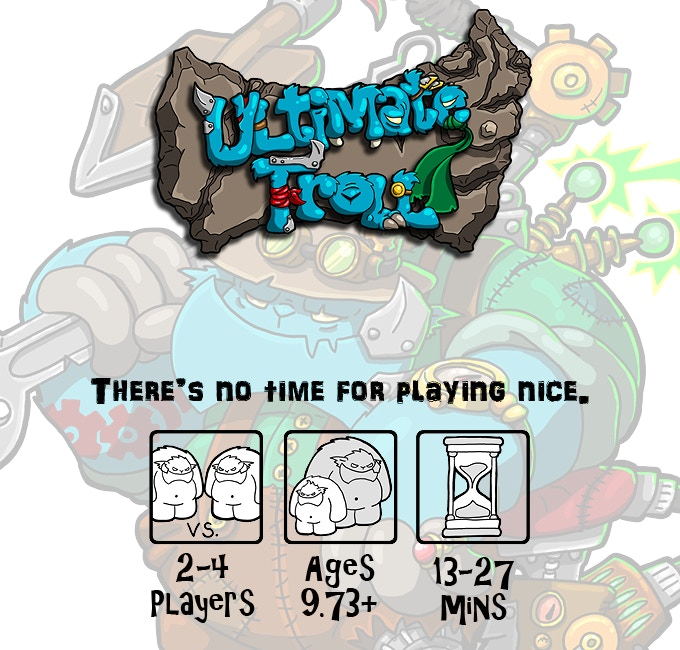 Ultimate Troll Episode 2: Steampunk Tycoon is a stand-alone game, but can also be shuffled with other copies of Episode 2 or Episode 1 for larger games.