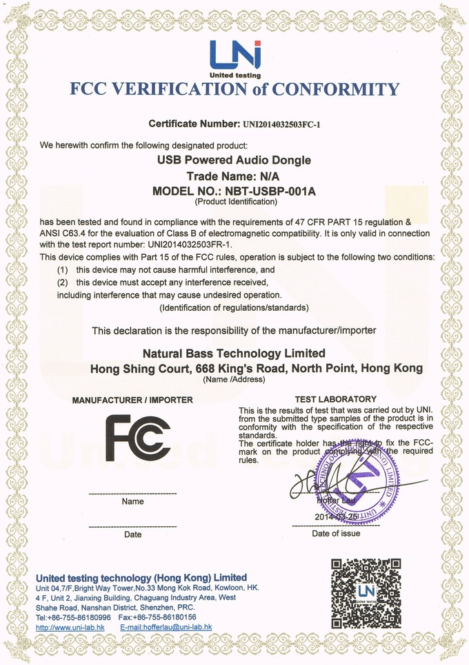 How to know a device is FCC certified? - Electrical ...