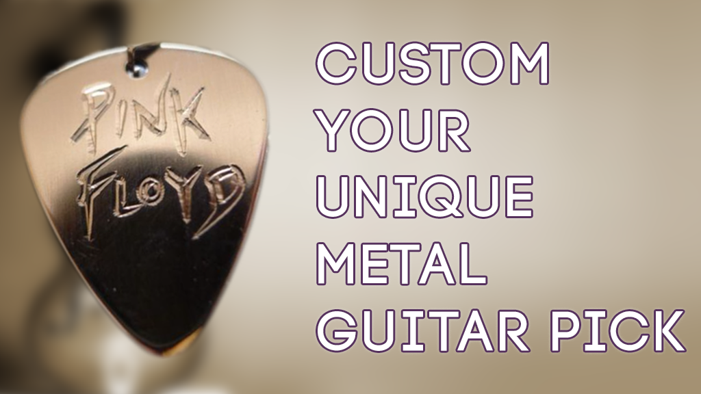 Project image for ZPick - Custom Your Unique Metal Guitar Pick (Suspended)