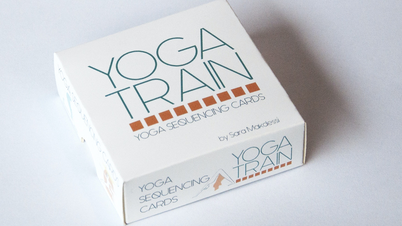 Yoga Train is a visual guide for yogis of all levels, it makes yoga sequencing simple, easy and colorful!