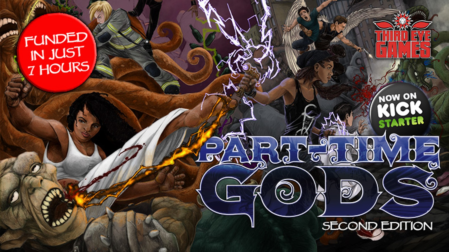 A new edition of Part-Time Gods that expands and enhances the core experience while adding tons of new material.