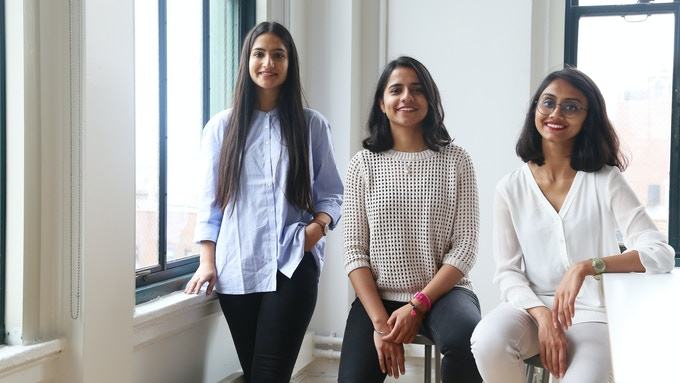 The Co-Founders: (L-R) Shubham Issar, Amanat Anand and Yogita Agrawal