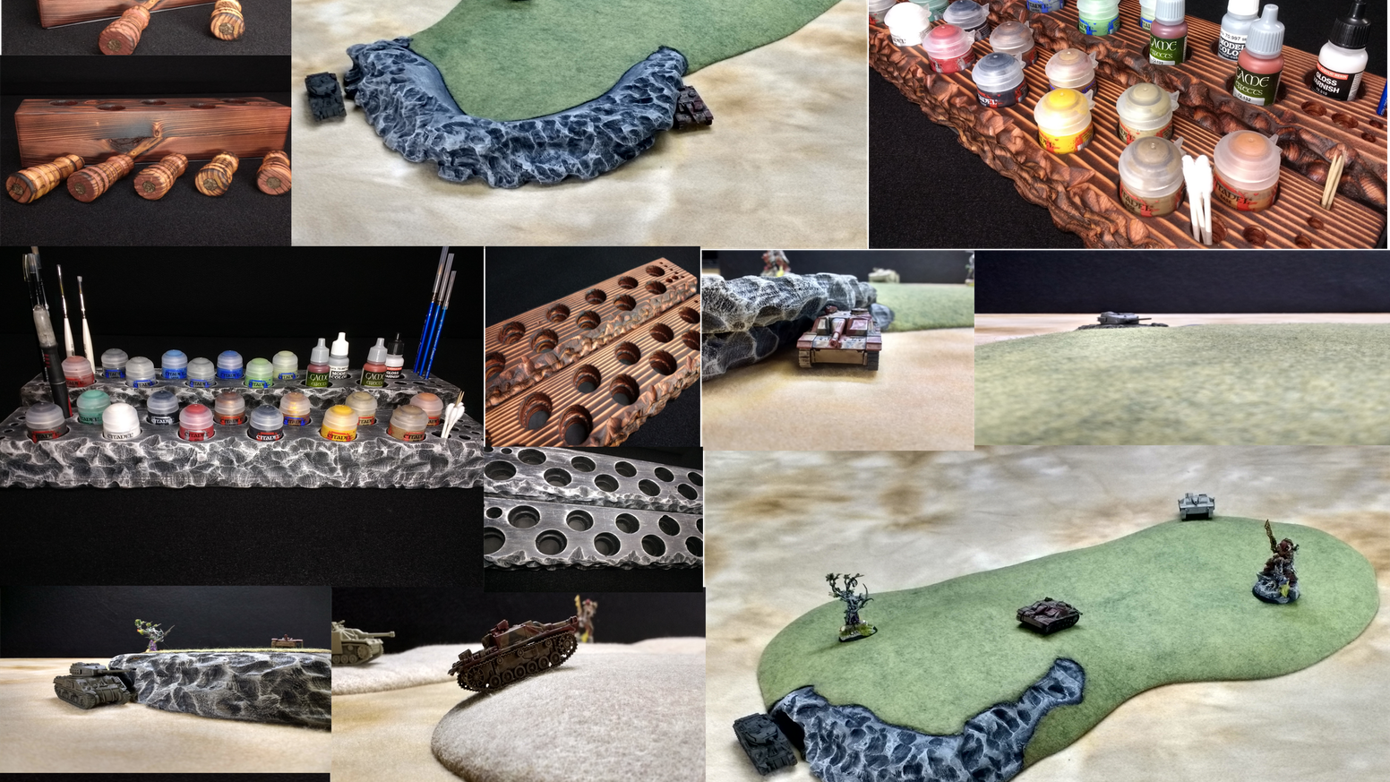 Sic Creations Inc  Terrain & Table top Accessories by Russell » FAQ