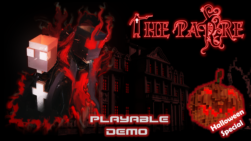 The Padre - A 3D Horror Adventure Voxelized