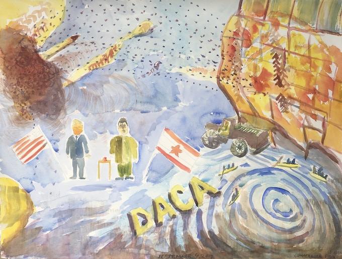 Labor Day Watercolor  $200