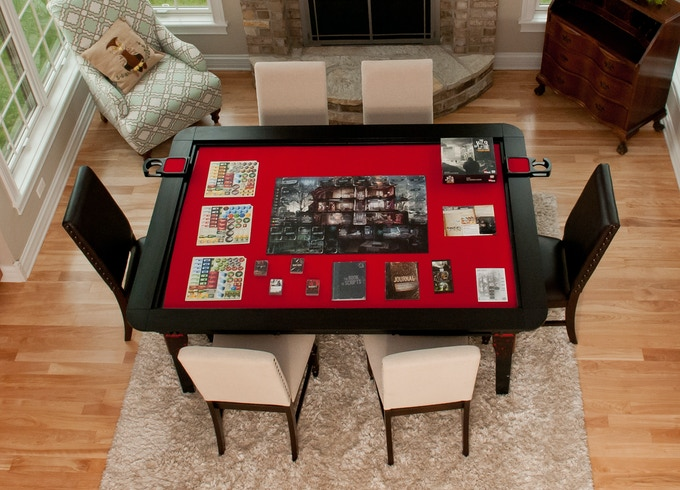 Gaming Coffee Table.Table Of Ultimate Gaming The Ultimate Game Table By Wood Robot