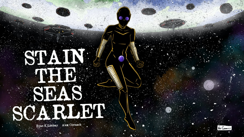 STAIN THE SEAS SCARLET - sci-fi one-shot project video thumbnail