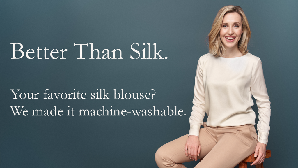 Better Than Silk: Machine-Washable Luxury. project video thumbnail