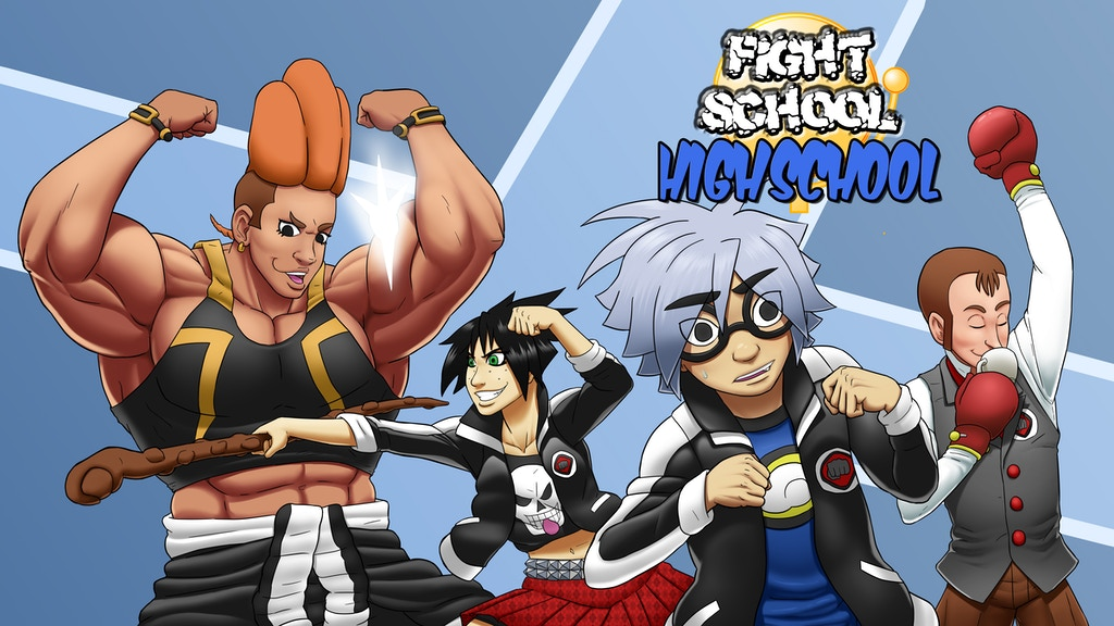 Fight School High School Chapter 1 project video thumbnail