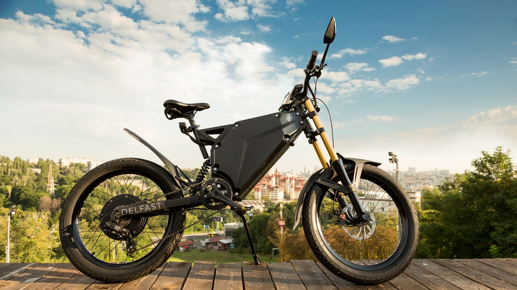 Delfast – the e-bike that can go for 236 miles on one charge project video thumbnail
