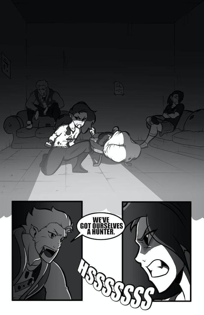 Alex Priest #1 Page Three