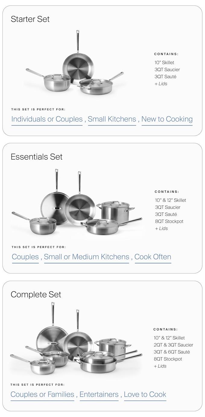 Misen Cookware by Misen — Kickstarter