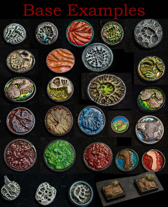 So many ways to paint these Bases. I can't wait to see what you come up with.