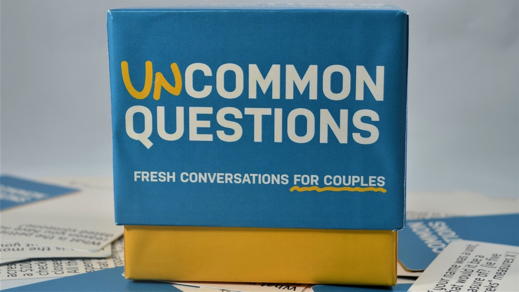 Uncommon Questions: Fresh Conversations for Couples project video thumbnail