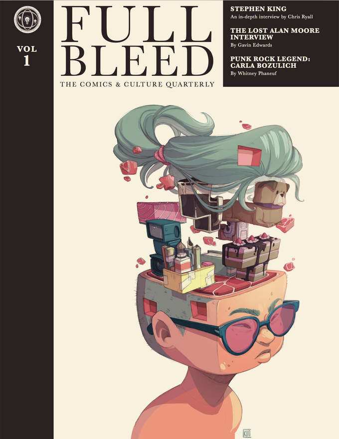 ab1f99da2b5 FULL BLEED  The Comics   Culture Quarterly by IDW Publishing ...
